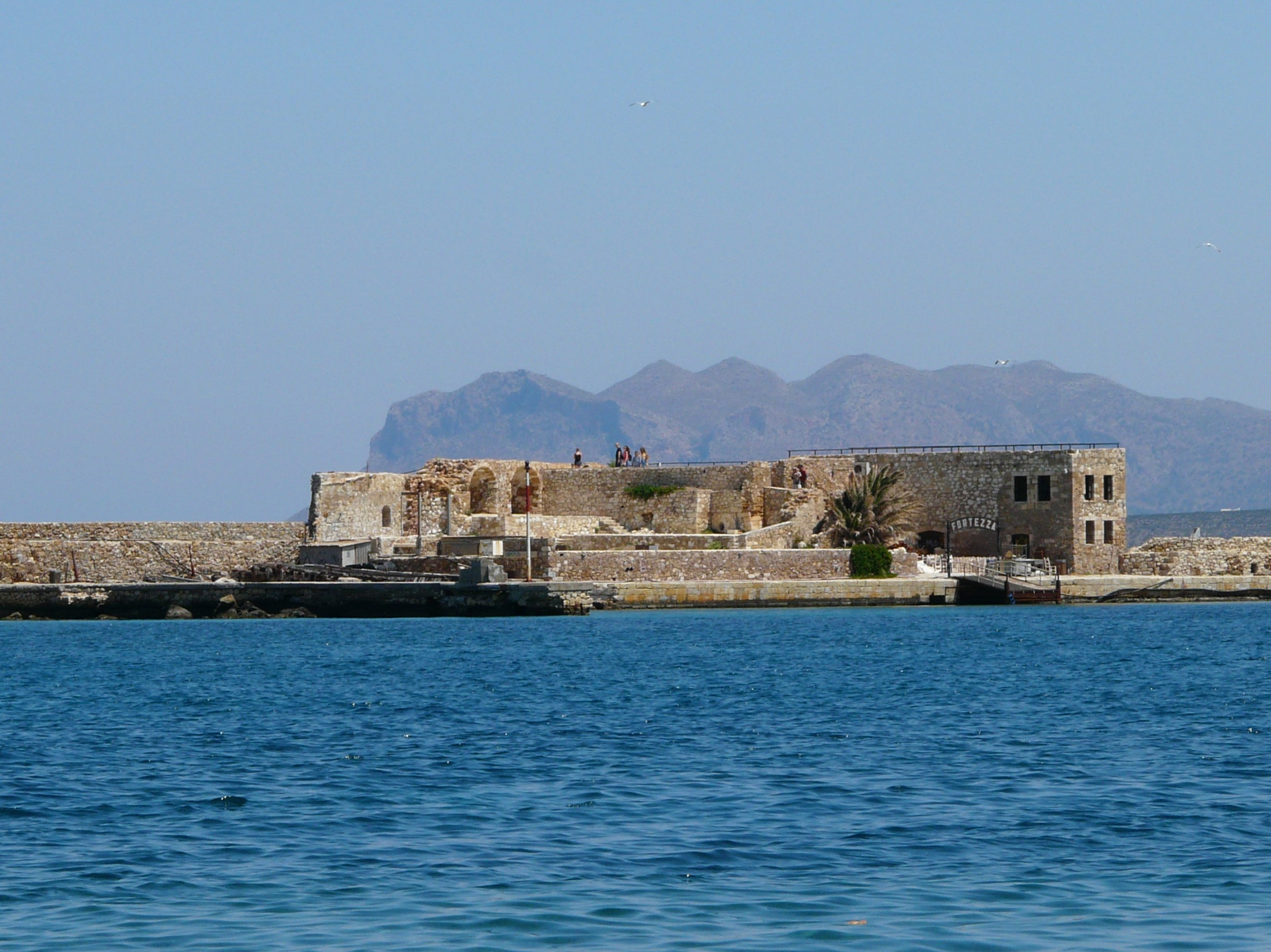 Widok nafort wChanii, Kreta