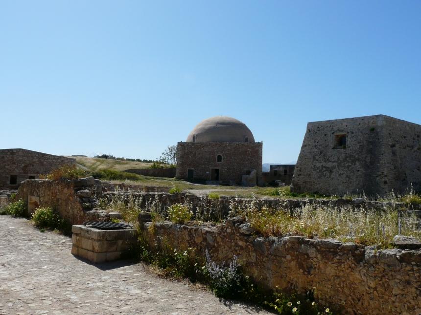 Kreta, Rethymno, Fortezza - górująca nadmiastem