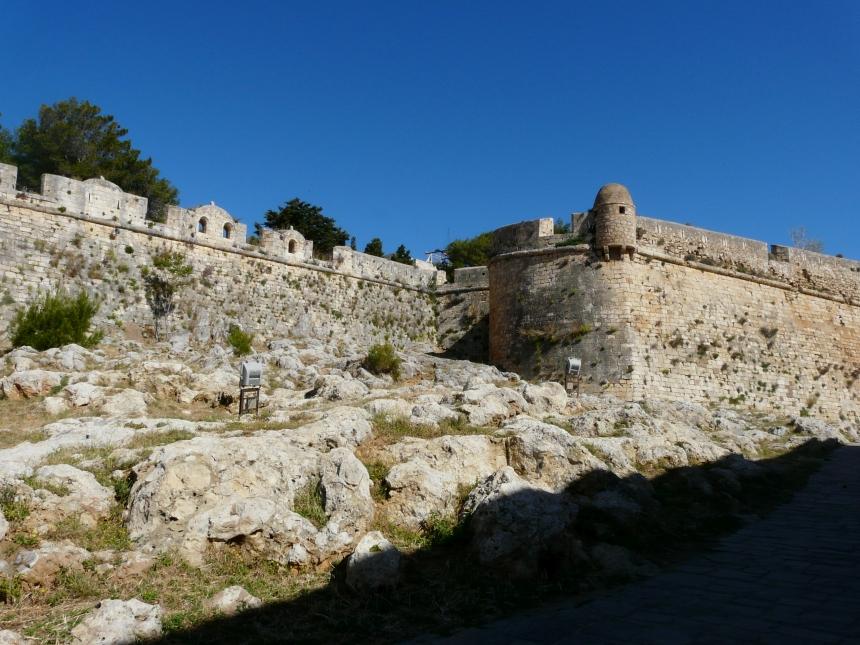 Kreta, Rethymno, Fortezza