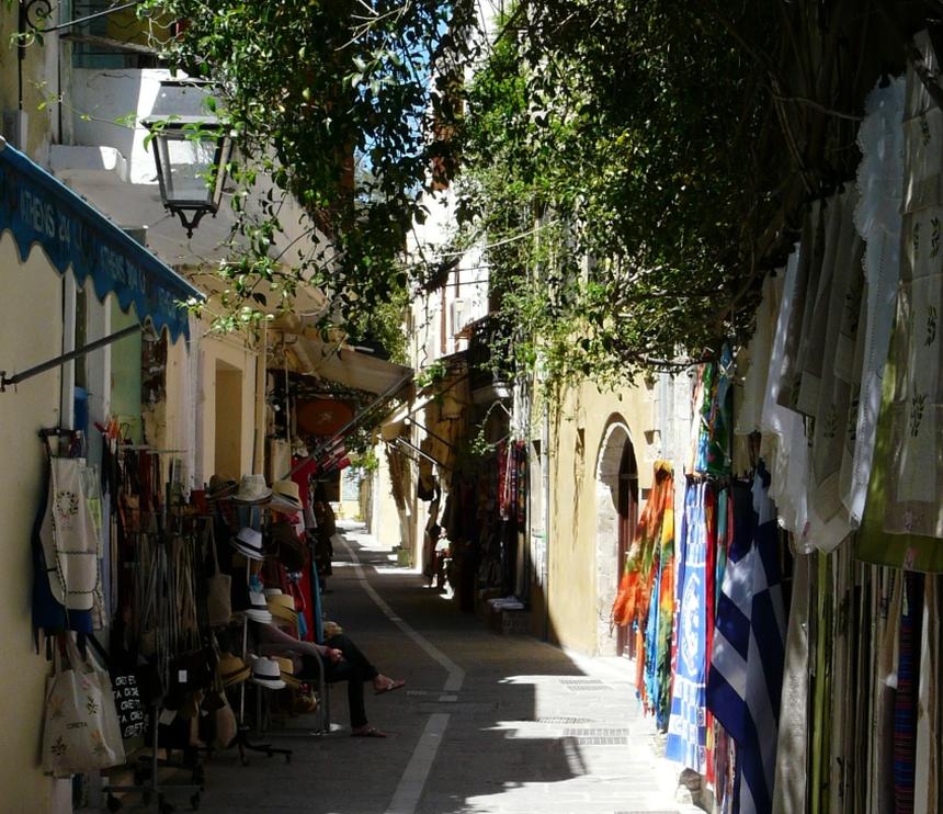 Rethymno - spacerując wąskimi uliczkami miasta