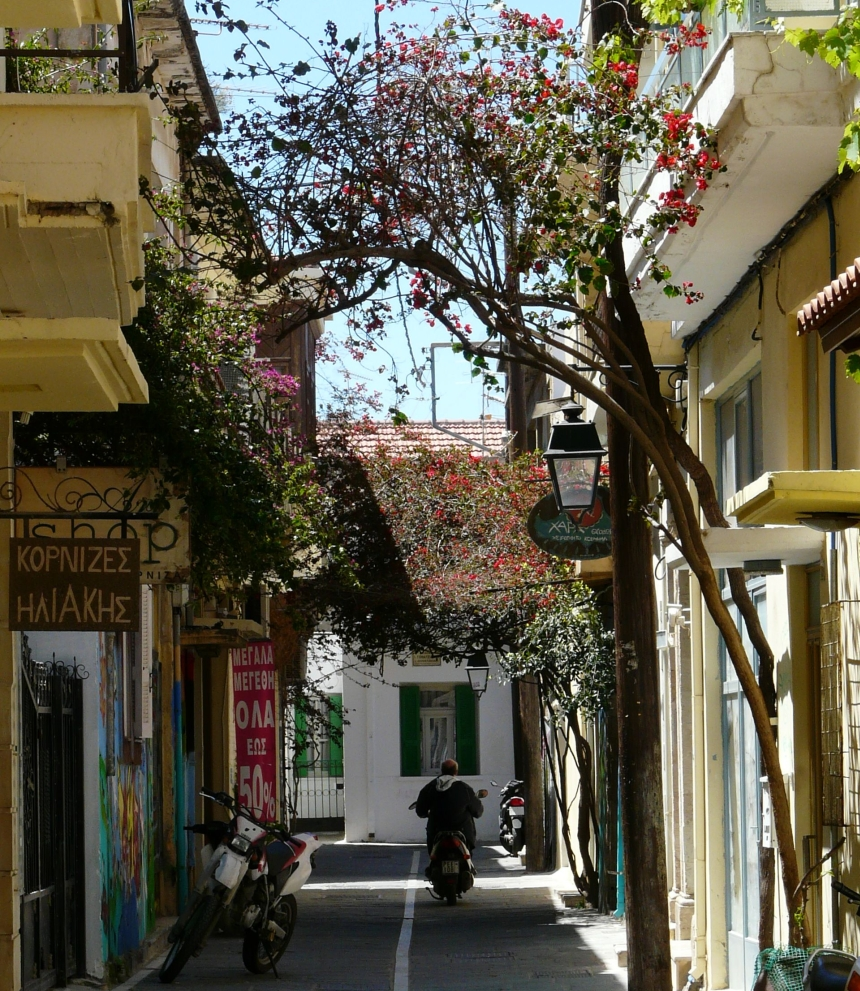 Starówka Rethymno - warto się tu zgubić, Kreta