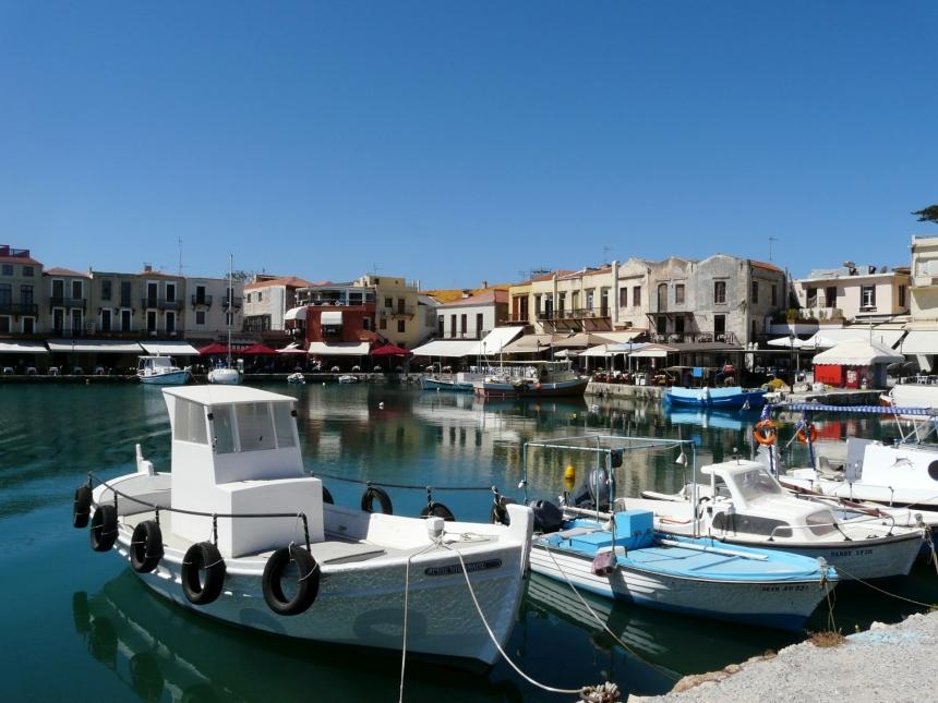 Port wenecki wRethymno, Kreta