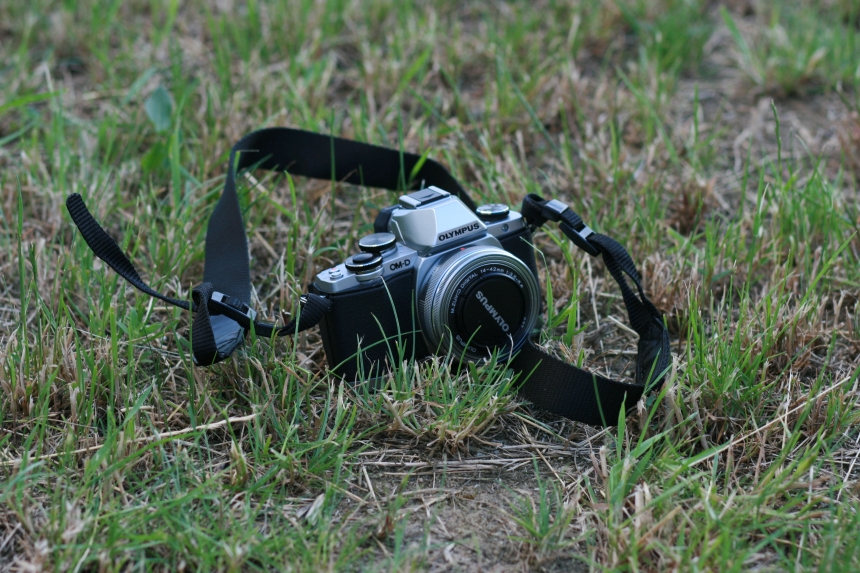 Aparat fotograficzny - spływ kajakowy Pliszką
