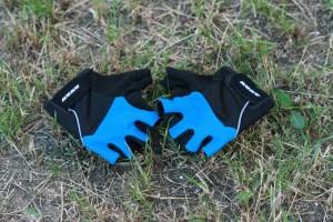 Rękawiczki rowerowe - spływ kajakowy Pliszką