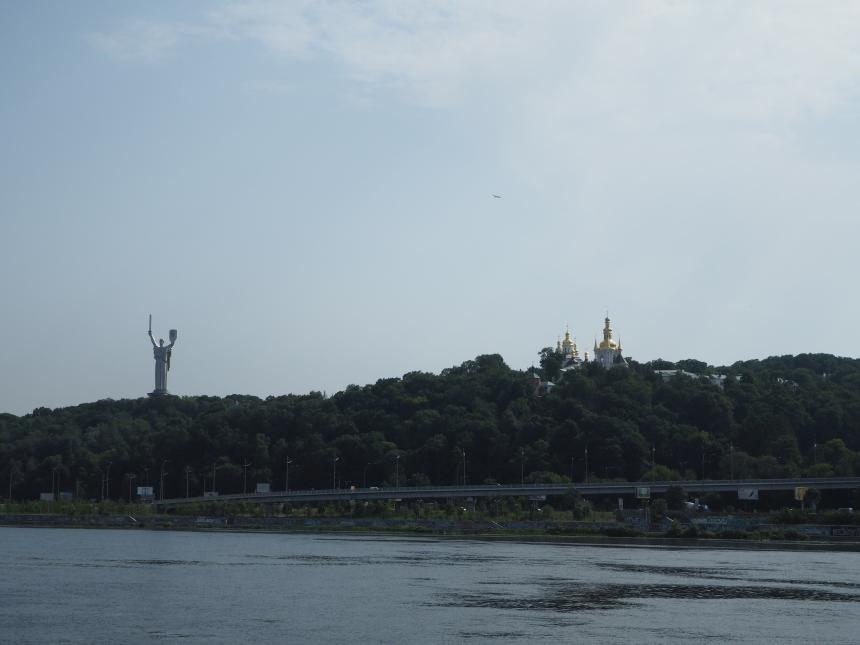 Kijów - rzeka Dniepr irejs statkiem