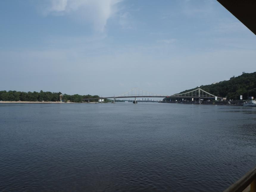 Kijów - rzeka Dniepr