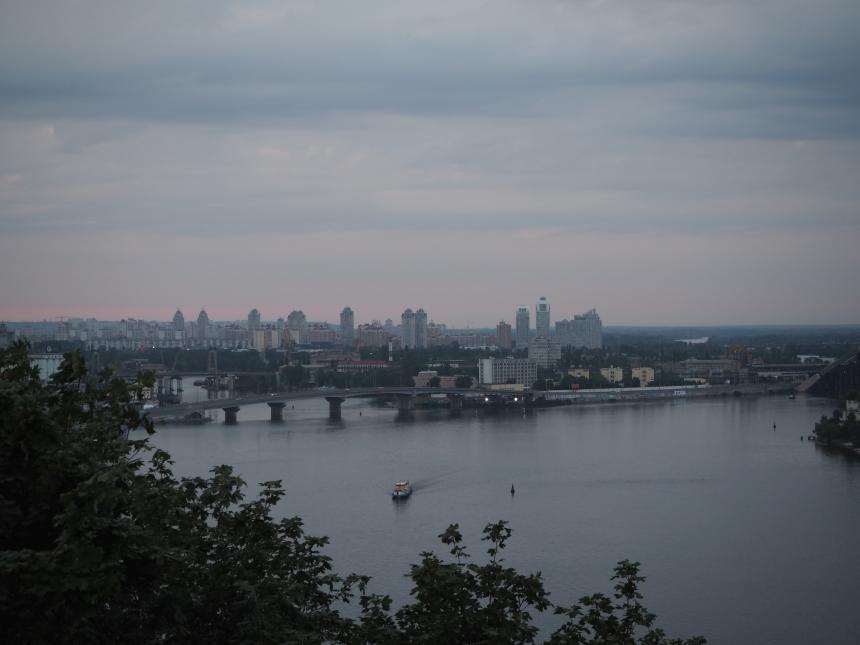 Kijów - praktycznie o stolicy Ukrainy