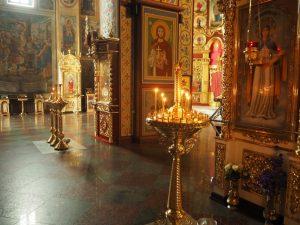 Monaster św. Michała Archanioła oZłotych Kopułach, wnętrze