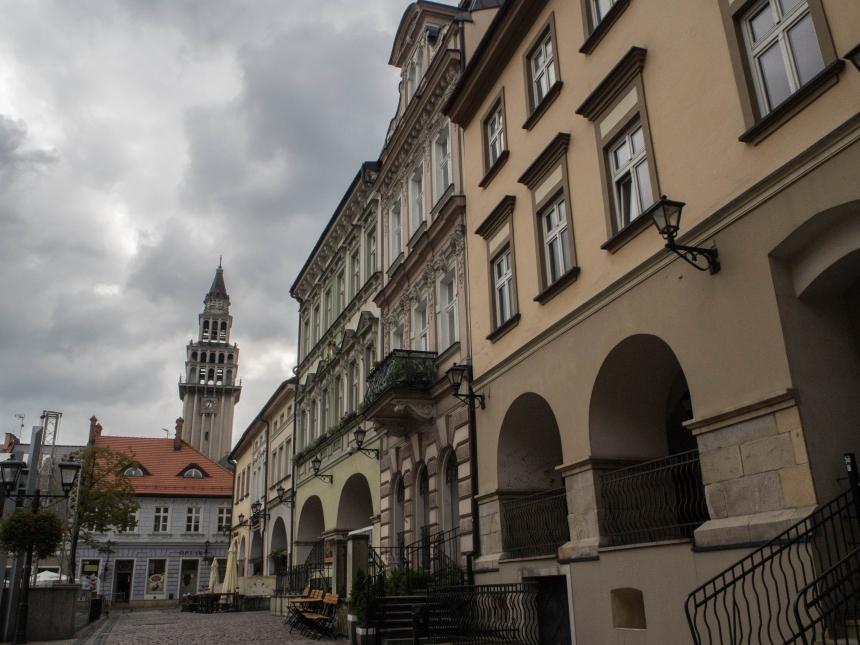 Kamienice naRynku wBielsku