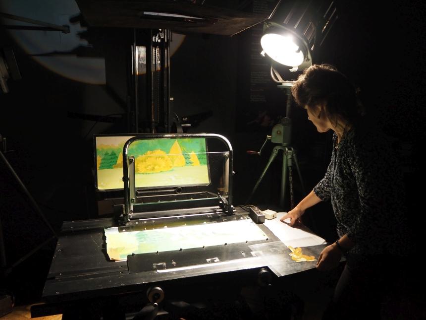Montaż bajek wStudiu Filmów Rysunkowych