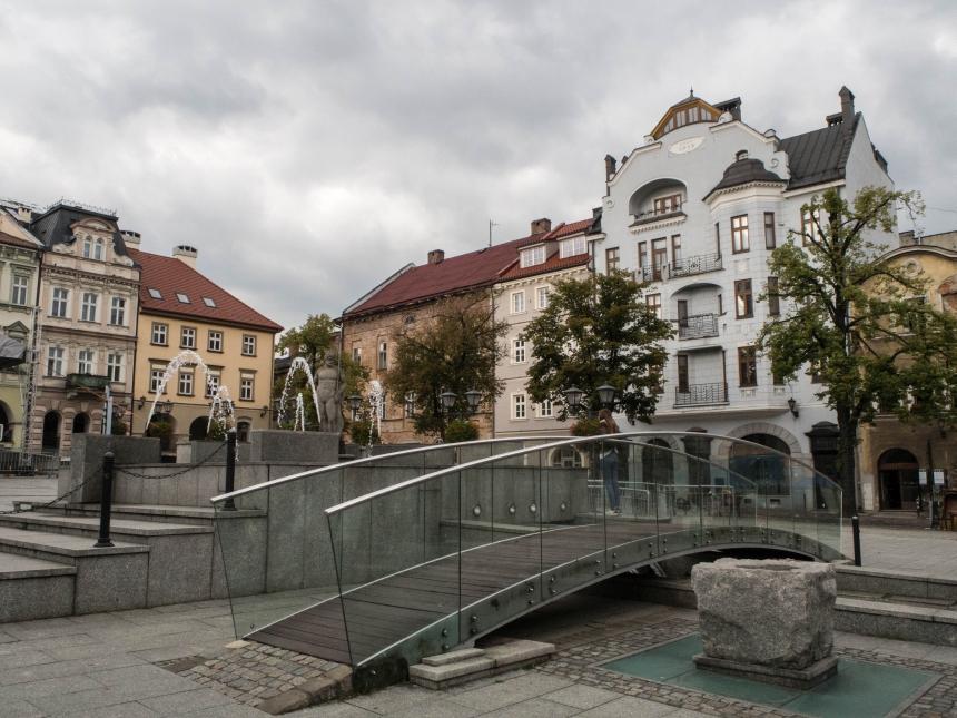 Kamienice naRynku Miejskim wBielsku