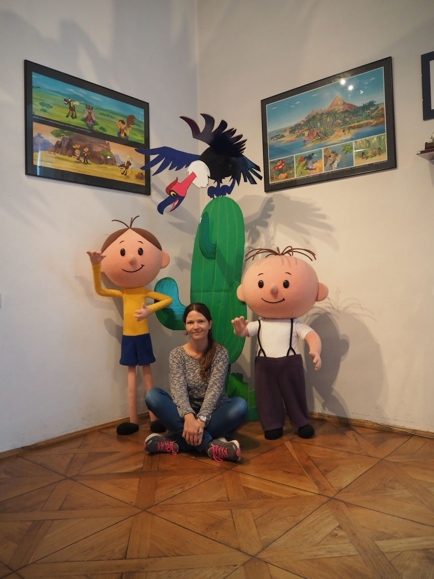 Studio Filmów Rysunkowych - zwizytą uBolka iLolka