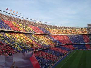 Camp Nou, Barcelona, źródło: wikimedia.org