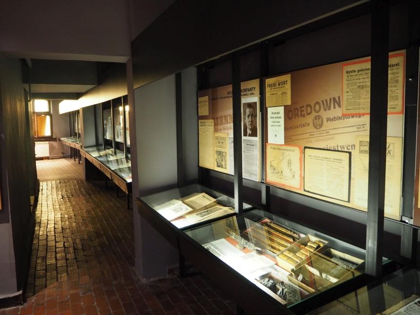 Muzeum Prasy Śląskiej - dawne gazety