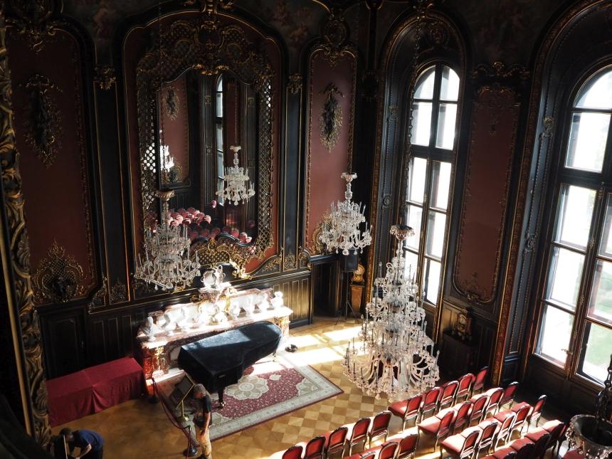 Muzeum Zamkowe wPszczynie - sala lustrzana