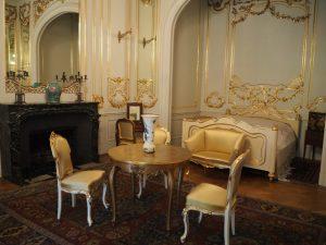 Muzeum Zamkowe wPszczynie - sypialnia księżna Daisy