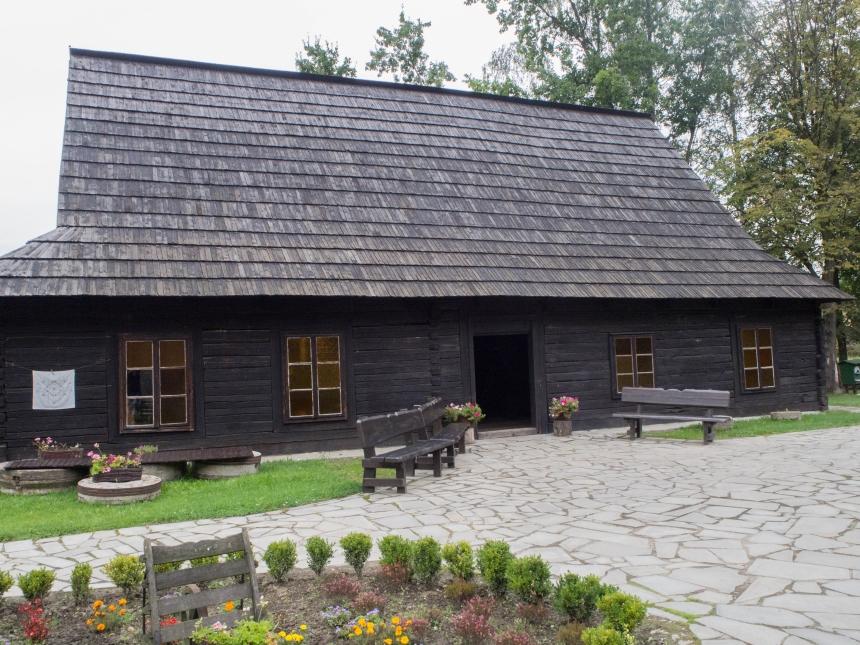 Slansen Zagroda Wsi Pszczyńskiej - budynki