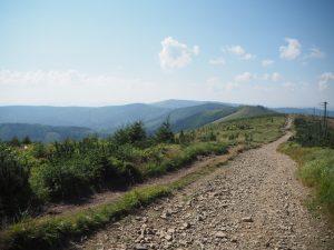 W drodze naMalinową Skałę, Beskid Śląski