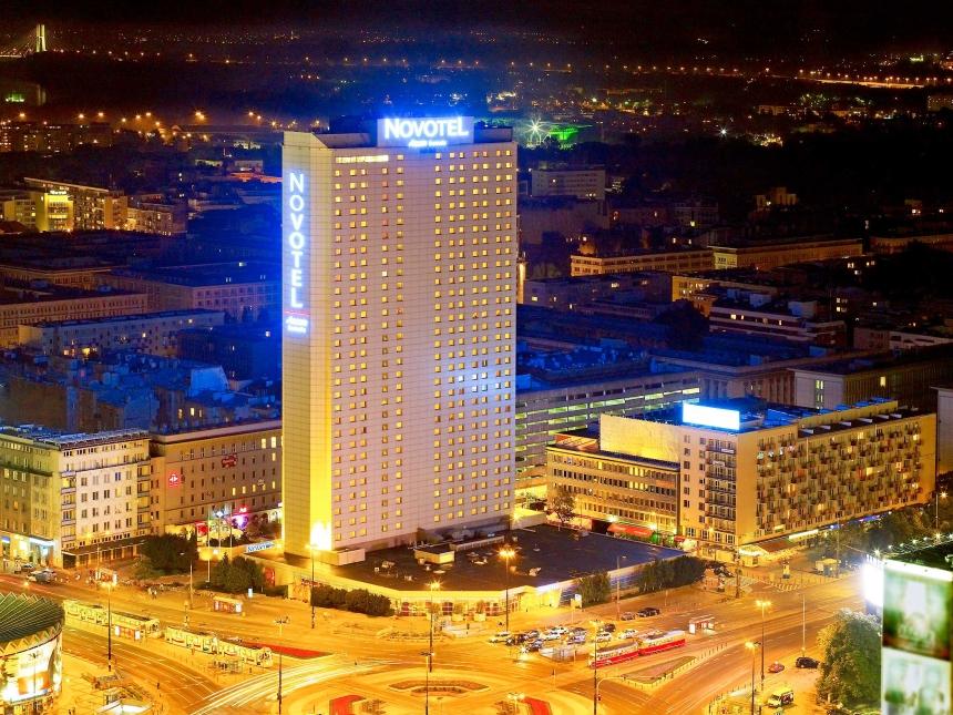 Novotel Centrum Warszawa - recenzja hotelu