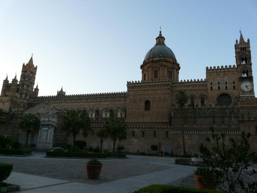 Architektura naSycylii - katedra wPalermo
