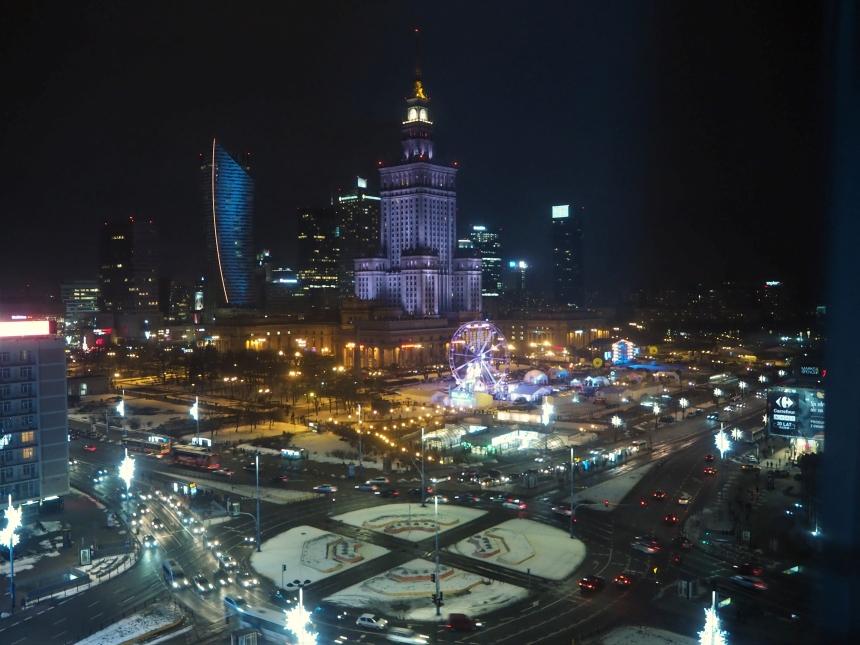 Novotel Centrum Warszawa - widok zokna