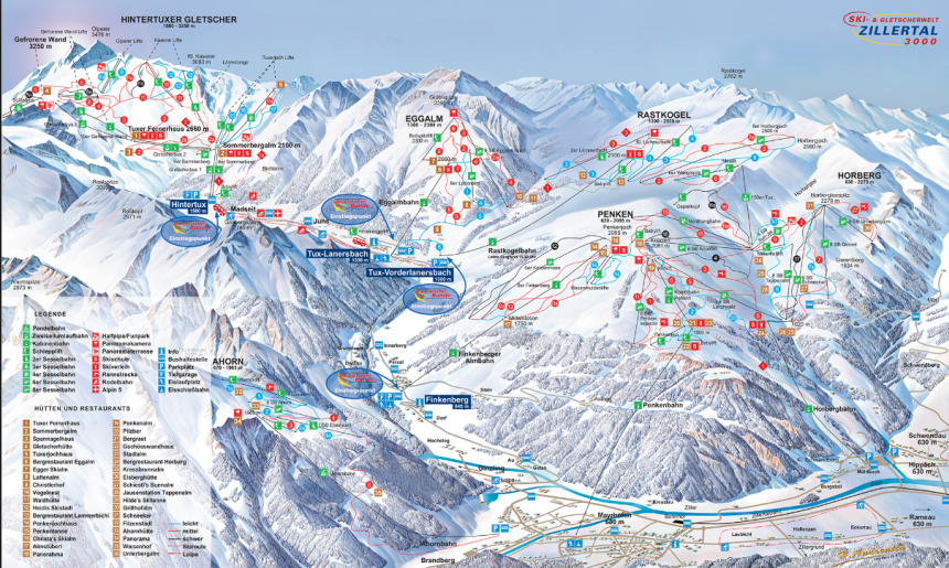 Tyrol, Zillertal