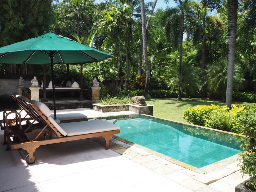 Willa whotelu Melia Bali - basen iogród