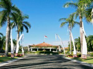 Hotel Melia Bali - wjazd