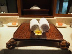 Hotel Melia Bali - ręczniki