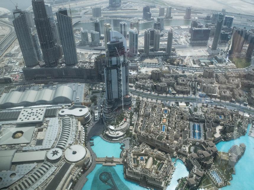 Dubaj – praktycznie o szklanym mieście