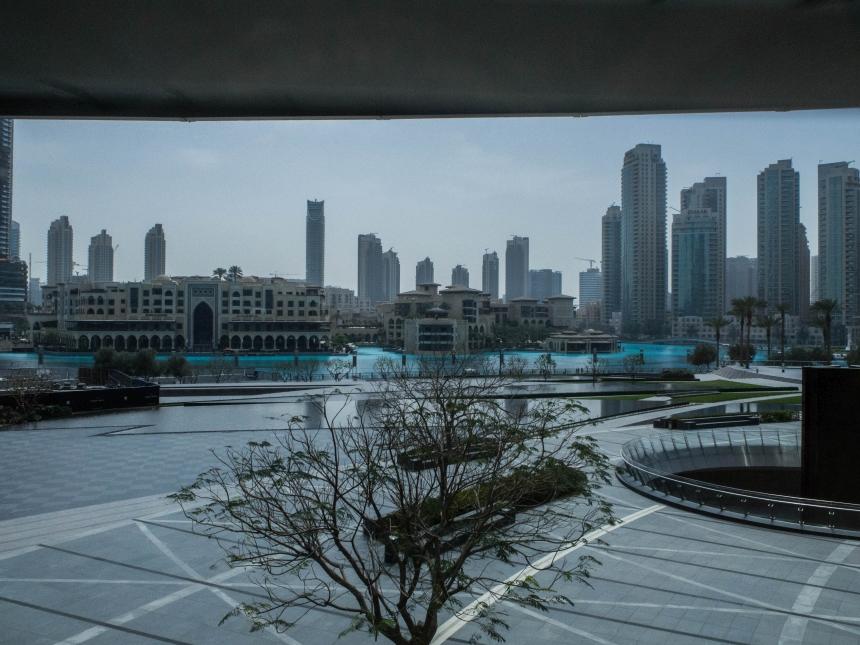 Dubaj - szklane miasto Zjednoczonych Emiratów Arabskich
