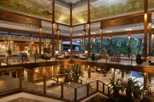 Recepcja hotelu Melia Bali