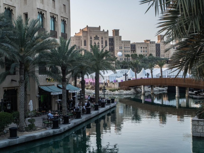Zwiedzając Dubaj