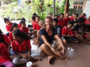 Dzieci naBali, Indonezja