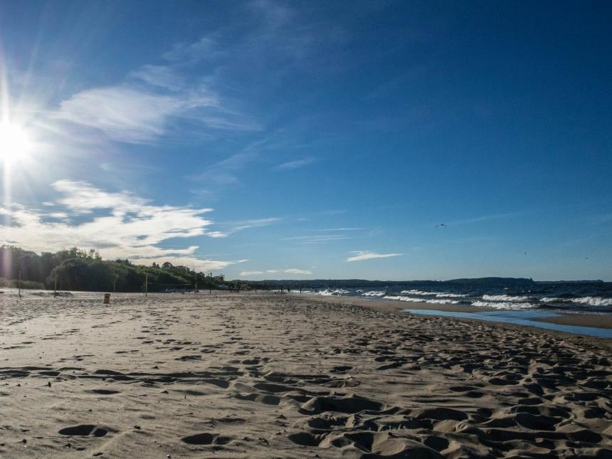 Plaża Jelitkowo Gdańsk