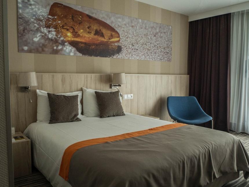 Mój pokój w hotelu Mercure Gdańsk Posejdon