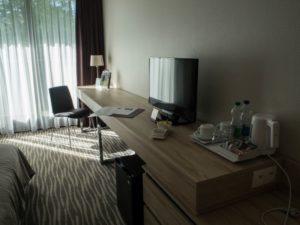 Wyposażenie pokoju hotelu Mercure Gdańsk Posejdon