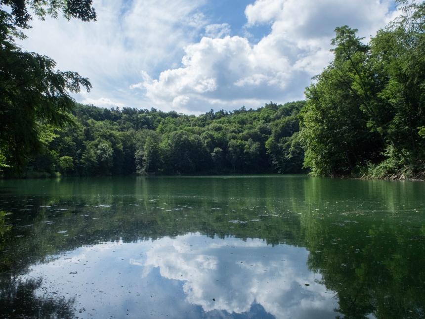 Jezioro Szmaragdowe, Szczecin