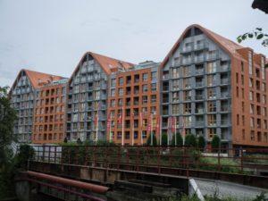 Aura Gdańsk - widok zzewnątrz, Wyspa Spichrzów