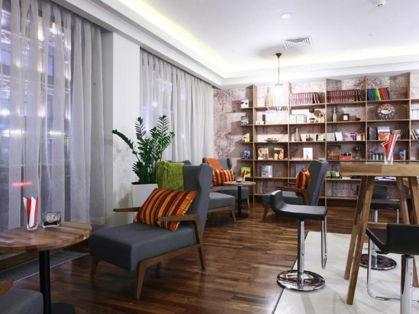 Kawiarnia Cafe 17 - Radisson Blu Kijów, Podil