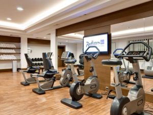 Centrum fitness Radisson Blu Kijów, Podil