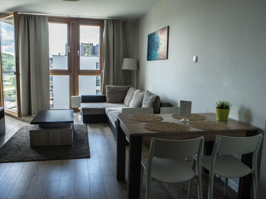 Mieszkanie Stay-in Aura I, Gdańsk, Wyspa Spichrzów