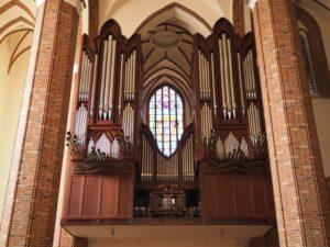 Wnętrze Bazyliki archikatedralnej św. Jakuba, Szczecin