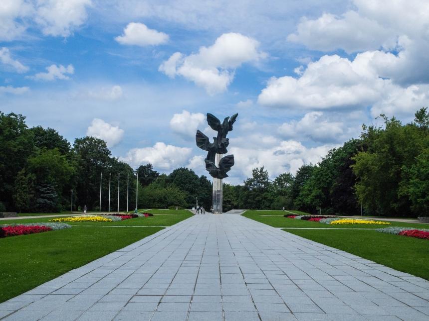 Pomnik Czynu Polaków, Jasne Błonia, Szczecin