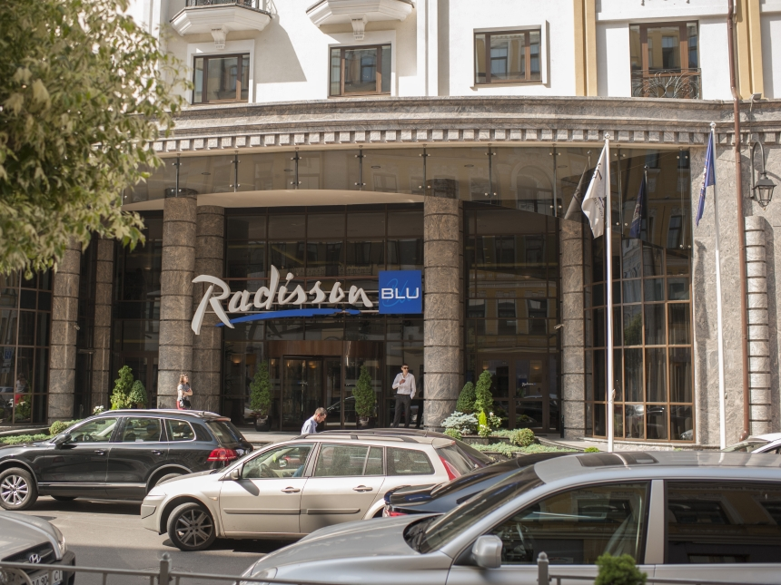 Radisson Blu Kijów Podil, zewnątrz hotelu