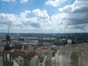 Szczecin zwieży katedralnej