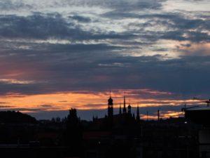 Zdjęcie zachodu słońca