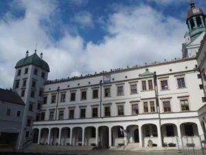 Duży dziedziniec, Zamek Książąt Pomorskich, Szczecin