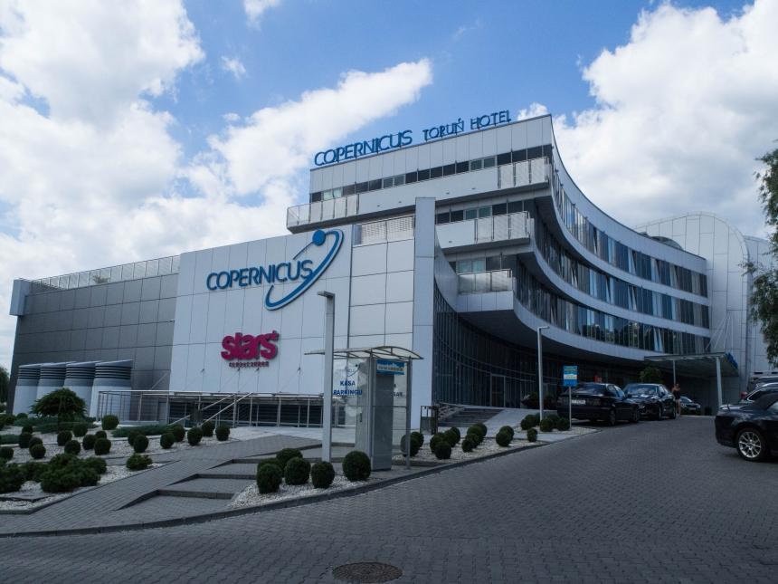 Copernicus Toruń Hotel - widok zzewnątrz