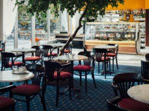 Kawiarnia Wiedeńska wVienna House Amber Baltic Międzyzdroje